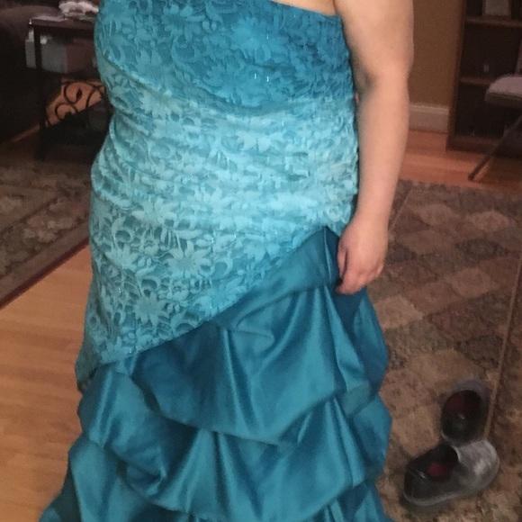 Deb Dresses Plus Size Prom Dress Poshmark
